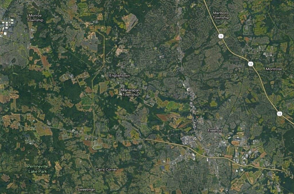 Manalapan Map